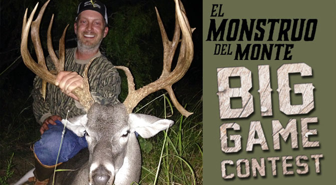 El Monstruo del monte. Big Game Contest